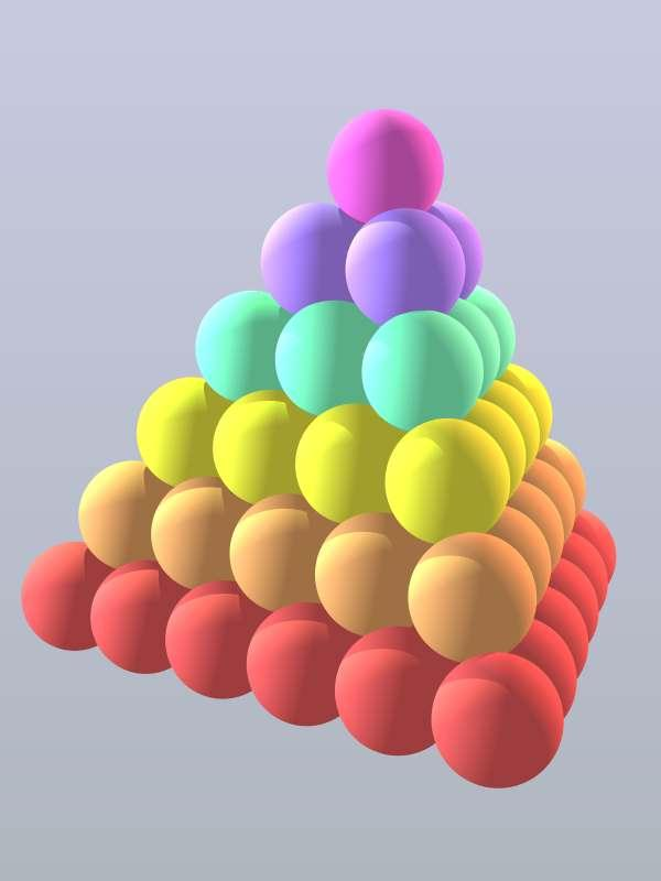 Puzzle 92. A pile of prime-spheres